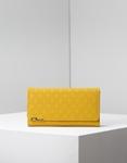 Εικόνα από Γυναικεία πορτοφόλια με ανάγλυφο σχέδιο Κίτρινο