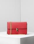 Εικόνα από Γυναικεία τσάντα ώμου μονόχρωμη Κόκκινο