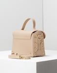 Εικόνα από Γυναικεία τσάντα ώμου με εξωτερική θήκη Μπεζ