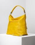 Εικόνα από Γυναικεία τσάντα ώμου με ανάγλυφες λεπτομέρειες Κίτρινο
