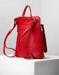 Εικόνα από Γυναικεία σακίδια πλάτης με διακοσμητικές ραφές Κόκκινο