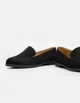 Εικόνα από Γυναικεία loafers μονόχρωμα Μαύρο