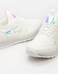 Εικόνα από Γυναικεία sneakers με μεταλλιζέ λεπτομέρειες Λευκό