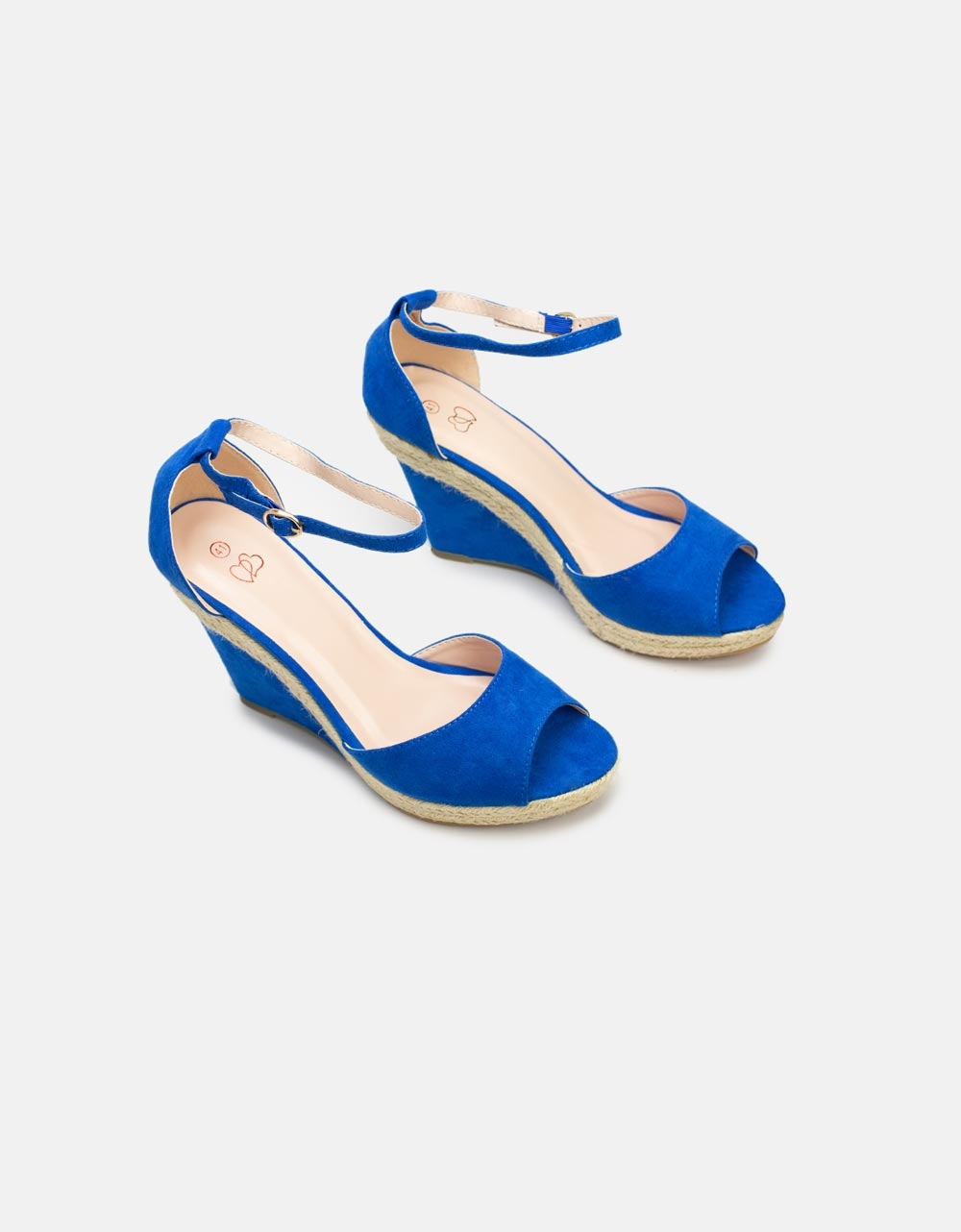 Εικόνα από Γυναικείες πλατφόρμες με εσπαντρίγια Μπλε