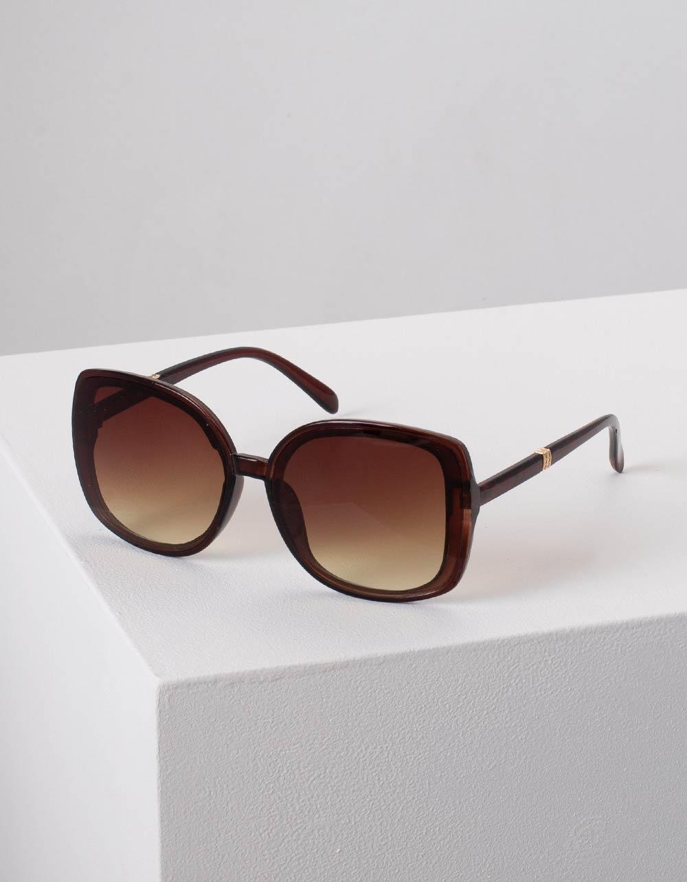 Εικόνα από Γυναικεία γυαλιά ηλίου στρογγυλά Καφέ