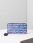 Εικόνα από Γυναικεία πορτοφόλια με σχέδιο Λευκό/Μπλε