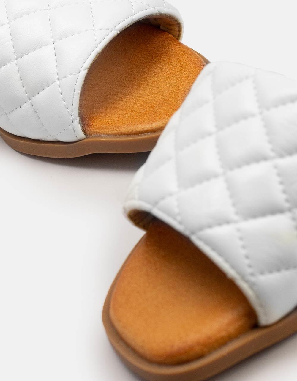 Εικόνα από Γυναικεία σανδάλια με αφρόδη πάτο Λευκό