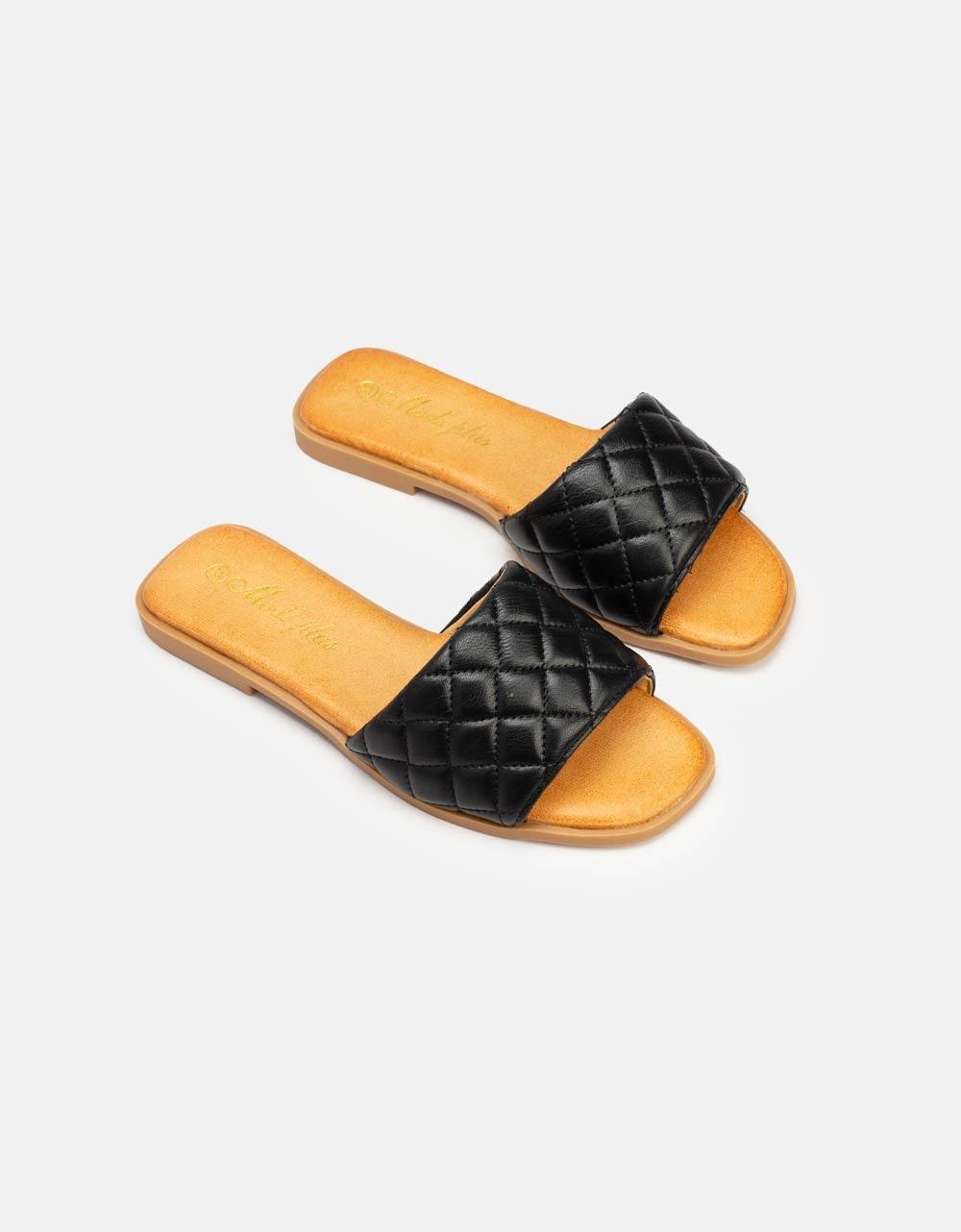 Εικόνα από Γυναικεία σανδάλια με αφρόδη πάτο Μαύρο