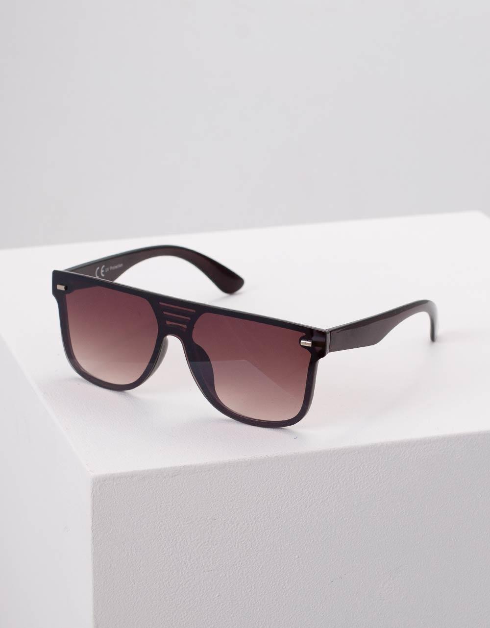 Εικόνα από Γυναικεία γυαλιά ηλίου με λεπτομέρεια Καφέ