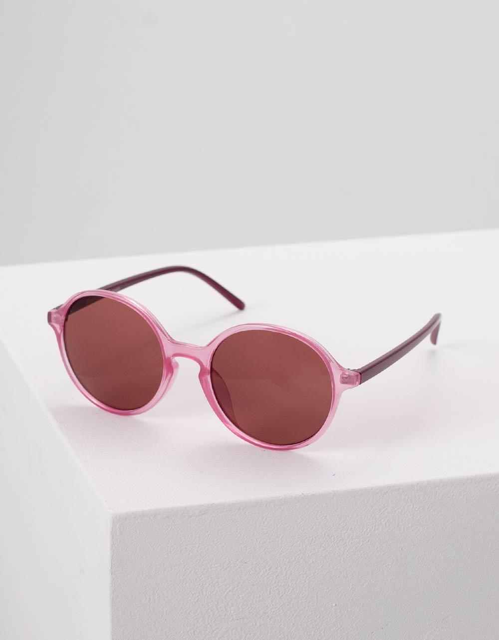 Εικόνα από Γυναικεία γυαλιά ηλίου στρογγυλά Ροζ