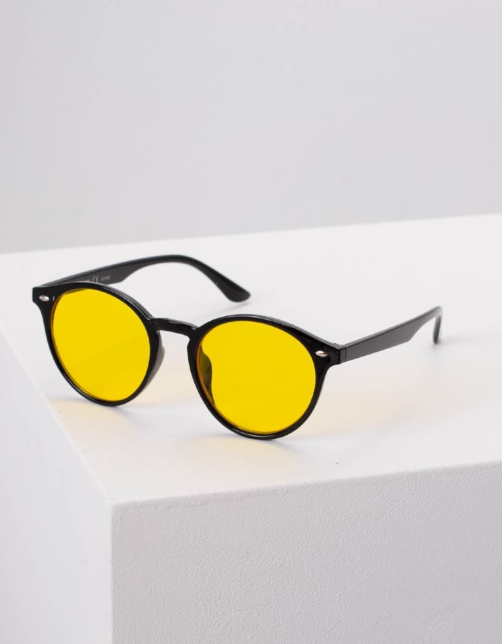 Εικόνα από Γυναικεία γυαλιά ηλίου Κίτρινο