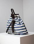 Εικόνα από Γυναικεία σακίδια πλάτης με σχέδιο Μπέζ/Μπλέ