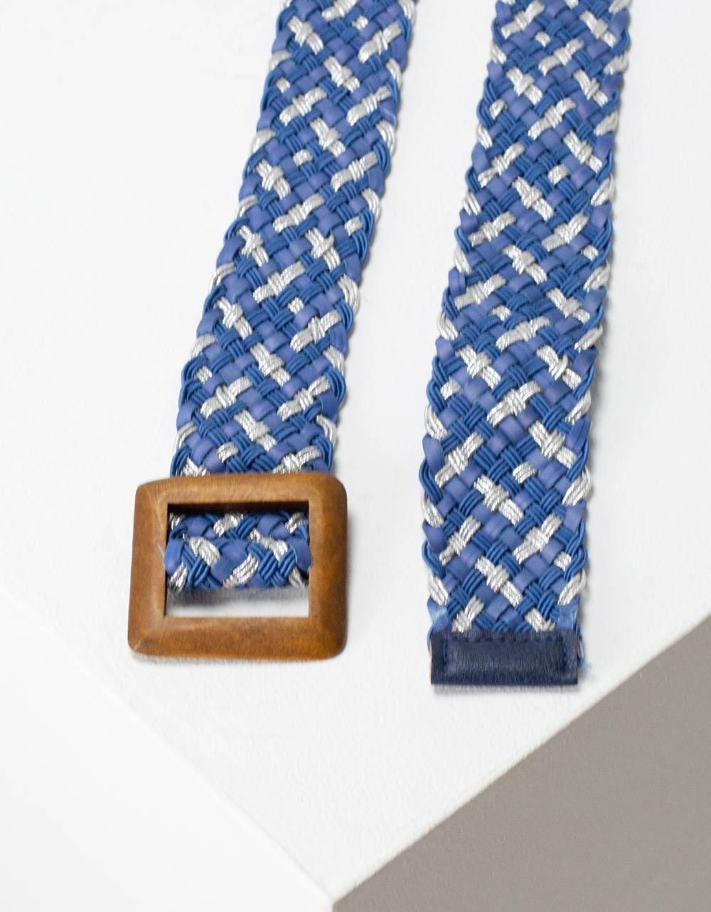 Εικόνα από Γυναικείες ζώνες με τετράγωνο τοκά Μπλε