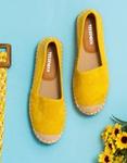 Εικόνα από Γυναικείες εσπαντρίγιες σε απλή γραμμή Κίτρινο