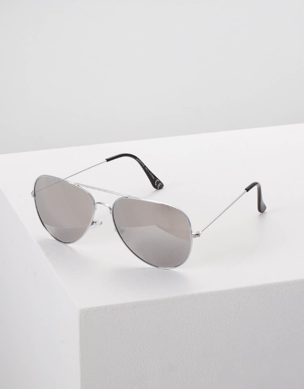 Εικόνα από Γυναικεία γυαλιά ηλίου Ασημί