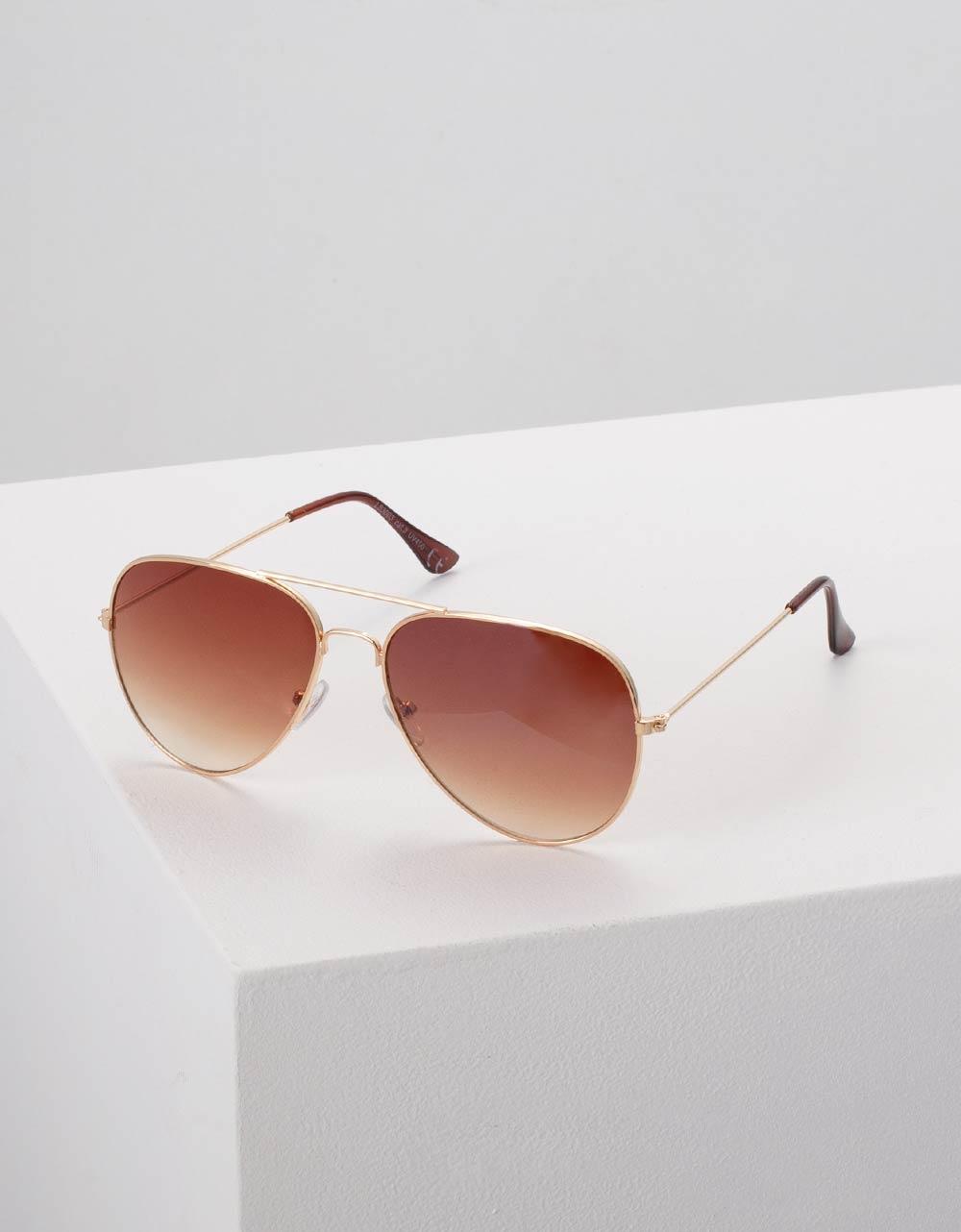 Εικόνα από Γυναικεία γυαλιά ηλίου Καφέ
