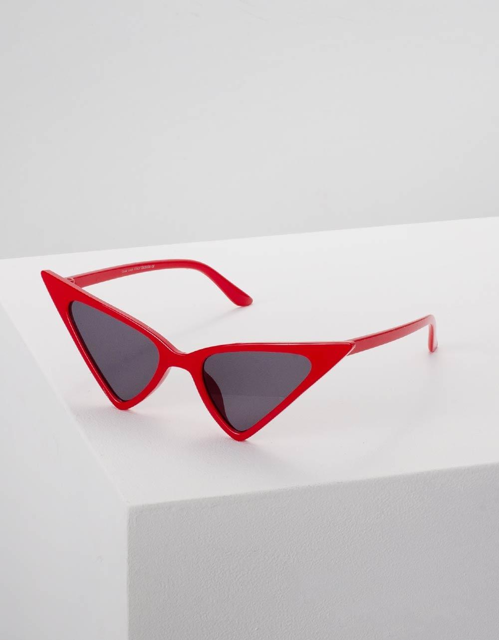 Εικόνα από Γυναικεία γυαλιά ηλίου σε σχήμα πεταλούδα Κόκκινο