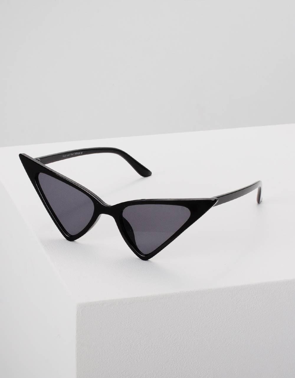 Εικόνα από Γυναικεία γυαλιά ηλίου σε σχήμα πεταλούδα Μαύρο