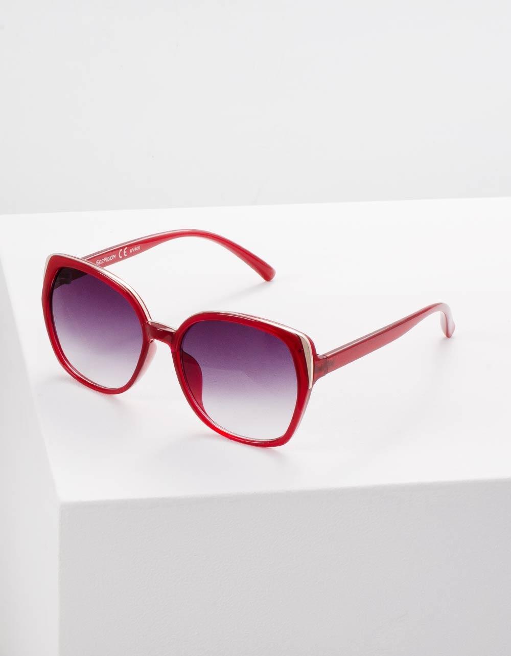 Εικόνα από Γυναικεία γυαλιά ηλίου Κόκκινο