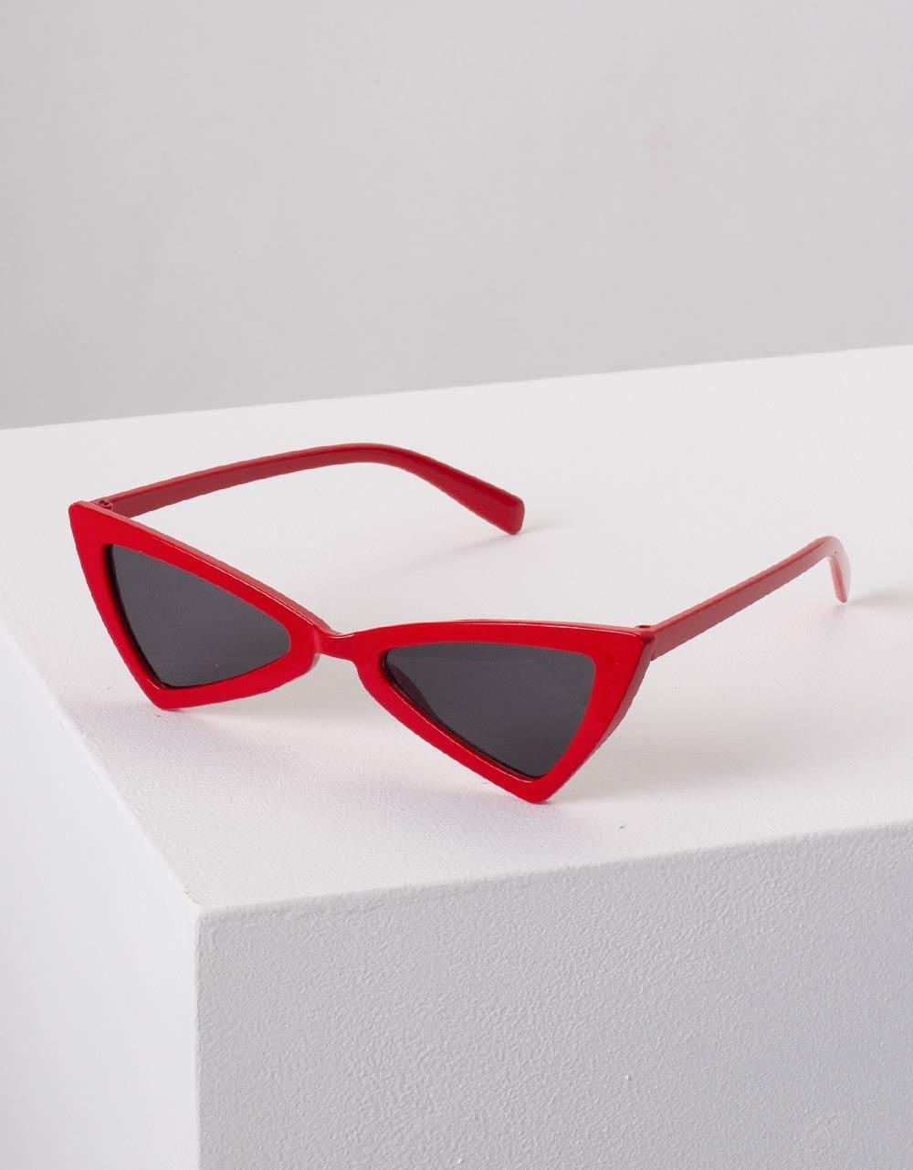 Εικόνα από Γυναικεία γυαλιά ηλίου cat eye Κόκκινο