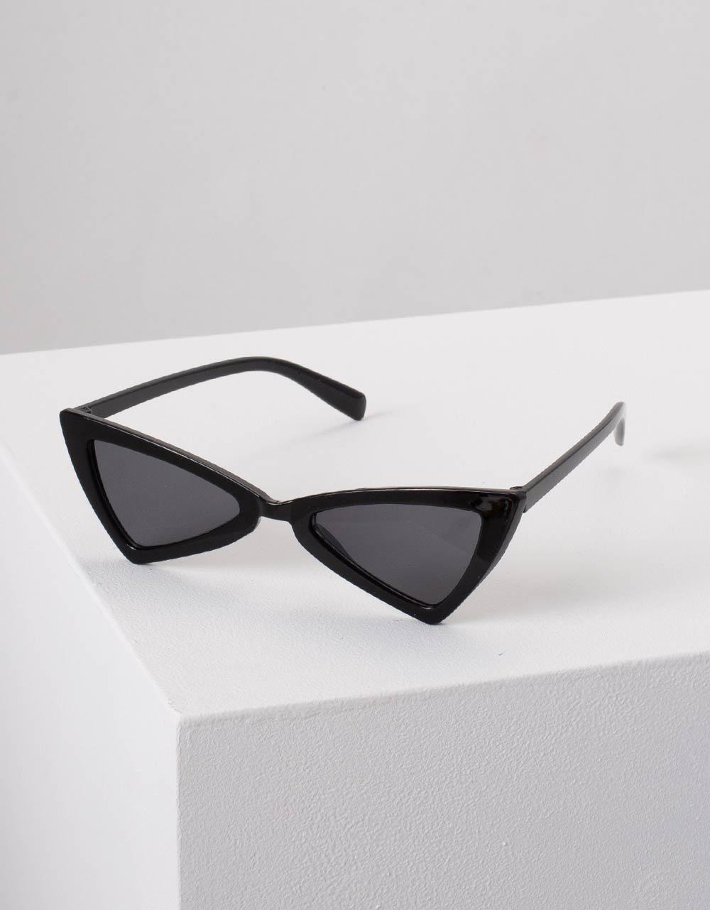 Εικόνα από Γυναικεία γυαλιά ηλίου cat eye Μαύρο