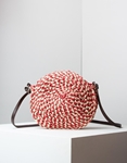 Εικόνα από Γυναικείες τσάντες ώμου ψάθινες Κόκκινο