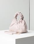 Εικόνα από Γυναικεία τσάντα χειρός με στρογγυλή χειρολαβή Μπεζ
