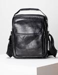 Εικόνα από Ανδρικές τσάντες ώμου χιαστί με εξωτερικές θήκες Μαύρο