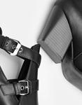 Εικόνα από Γυναικεία μποτάκια με πλαϊνό άνοιγμα Μαύρο