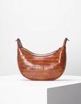 Εικόνα από Γυναικεία τσάντα ώμου & χιαστί με κροκό μοτίβο Ταμπά