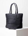 Εικόνα από Γυναικεία τσάντα χειρός μονόχρωμη Μαύρο