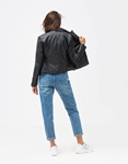 Εικόνα από Γυναικεία jackets με τσέπες στο πλαινό μέρος Μαύρο