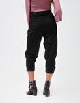 Εικόνα από Γυναικείο παντελόνι με ζωνάκι Μαύρο