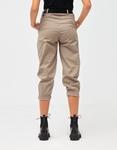 Εικόνα από Γυναικείο παντελόνι με ζωνάκι Μπεζ