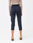 Εικόνα από Γυναικείο παντελόνι ψηλόμεσο Μπλε