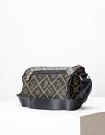 Εικόνα από Γυναικεία τσάντα ώμου & χιαστί με μοτίβο Μαύρο