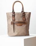 Εικόνα από Γυναικεία τσάντα χειρός με λουριά πλάτης Πούρο