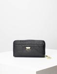 Εικόνα από Γυναικεία πορτοφόλια με κλίπ Μαύρο