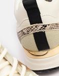 Εικόνα από Γυναικεία sneakers σε συνδυασμό σχεδίων Μπεζ