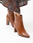Εικόνα από Γυναικεία μποτάκια με κροκό μοτίβο Ταμπά