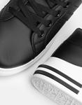Εικόνα από Γυναικεία sneakers με δίχρωμο σχέδιο Μαύρο