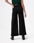 Εικόνα από Γυναικείο παντελόνι ψηλόμεσο καμπάνα Μαύρο