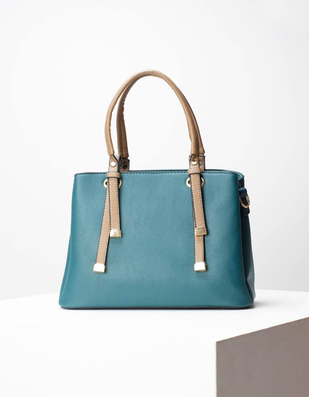 Εικόνα από Γυναικεία τσάντα χειρός Πράσινο
