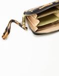 Εικόνα από Γυναικεία πορτοφόλια animal print mini Καφέ