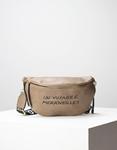 Εικόνα από Γυναικεία τσάντα μέσης με σχέδιο στο λουρί Πούρο