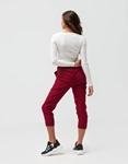 Εικόνα από Γυναικεία μπλούζα crop top ριπ Λευκό