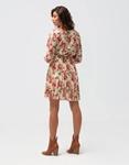 Εικόνα από Γυναικείο φόρεμα φλοράλ Λευκό