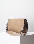 Εικόνα από Γυναικεία τσάντα ώμου & χιαστί με διακοσμητική αλυσίδα Πούρο