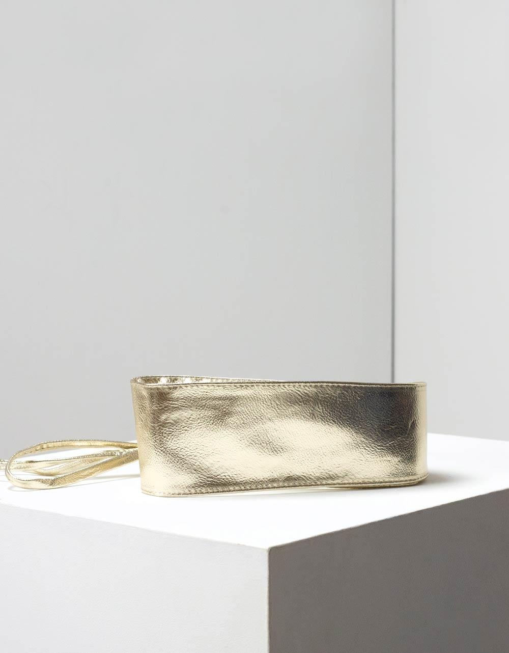 Εικόνα από Γυναικείες ζώνες με δέσιμο με λουράκια Χρυσό