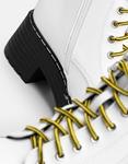 Εικόνα από Γυναικεία μποτάκια με δίχρωμα κορδόνια Λευκό